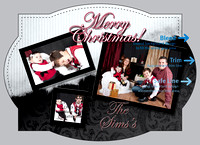 Christmas card geo SAMPLE